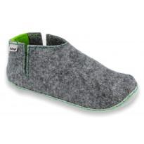 Slippers V-FELT grey-green 2