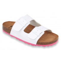 Biox Alex Medical Cork Slippers White