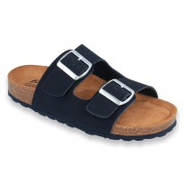 Biox Aston Medical Cork Slippers Navy
