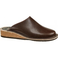 LT PANTOFLE cork slippers brown