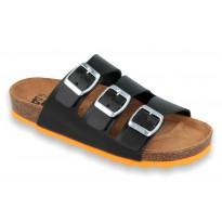 Biox Livorno Medical Cork Slippers Black