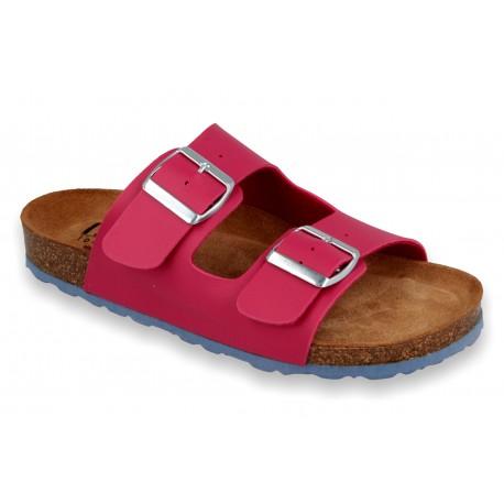Biox Aston Medical Cork Slippers Pink