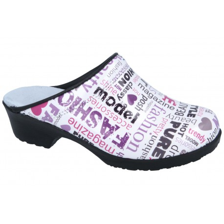 Comfort Flex Clogs PU soles Leather Journal