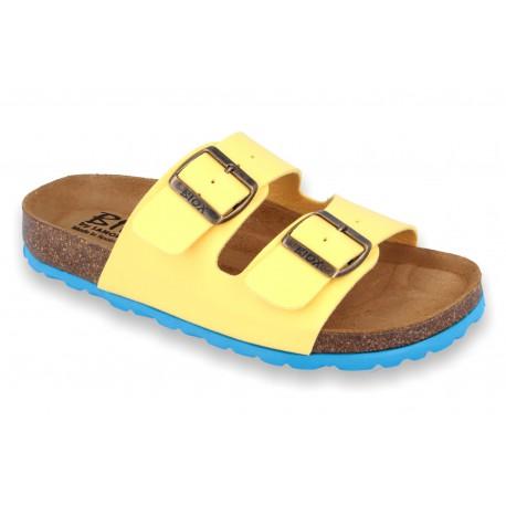 Biox Aston Medical Cork Slippers Yellow