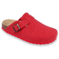 Biox Aston Medical Cork Slippers Red