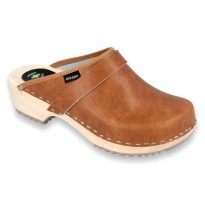 Clogs Classic Klogga Wooden Antique Brown