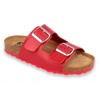 Biox Alex Medical Cork Slippers Red
