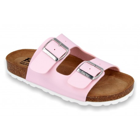 Biox Aston Medical Cork Slippers Pink