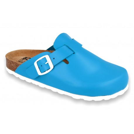 Biox Berney Medical Cork Slippers Blue