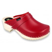 Clogs Classic Klogga Wooden Red