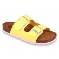 Biox Alex Medical Cork Slippers Yellow