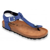 Biox Aston Medical Cork Slippers Blue