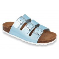 Biox Livorno Ocean Medical Cork Slippers Blue