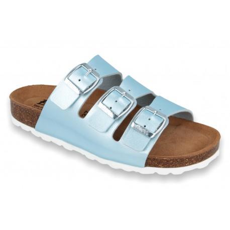 Biox Livorno Medical Cork Slippers Blue