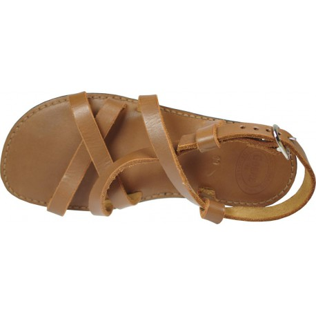 Sandals GOKKE unisex leather black