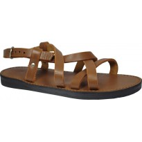Sandals GOKKE unisex leather black